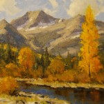 Dan Young, Autumn Below Chair Mountain, oil, 11 x 14.