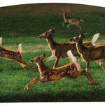 Greg Beecham, Alfalfa Fandango, oil, 24 x 40.