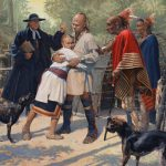 John Buxton, Reunited, oil, 26 x30.