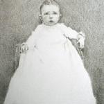 Julio Reyes | Baron, graphite, 8 x 5.