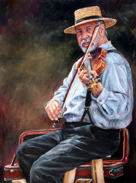 Barry Carter, Sweeter With Time, oil, 18 x 24.