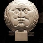 Béla Bácsi, Sole É Brutto, marble, 43 x 35 x 4.