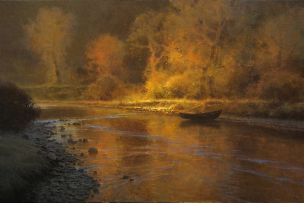 Brent Cotton, Be Still My Soul, oil painting