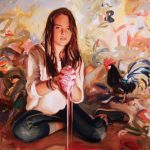 Jeffrey Beauchamp, Frida Be You and Me, oil, 60 x 48.