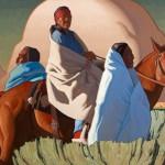Logan Maxwell Hagege, Between the Sage and Sky, oil, 40 x 60.