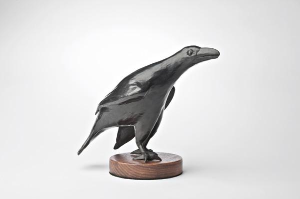 Michael Naranjo, Black Magic, bronze sculpture