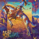 Buckeye Blake, The Wild Rose, oil western painting