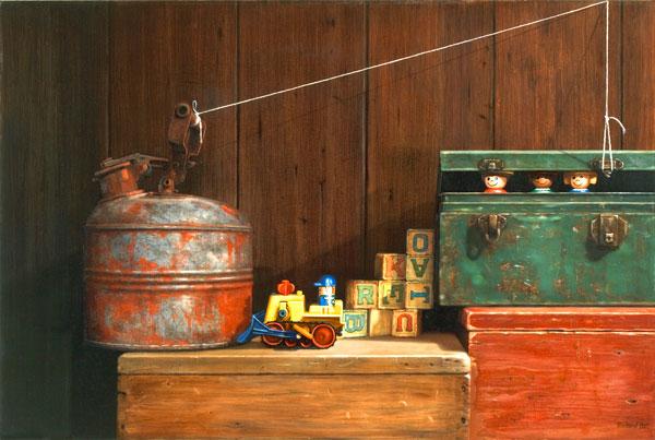 Breakout, oil, 24 x 36.