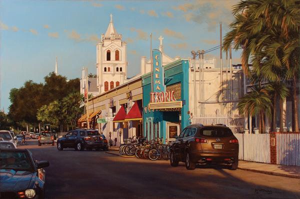 Brian Slawson, Tropic, 20 x 30.