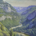 Brian Jillson, Yosemite Valley, oil, 30 x 40.