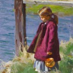 Mike Malm, Brilliant Sunlight, oil, 20 x 13.