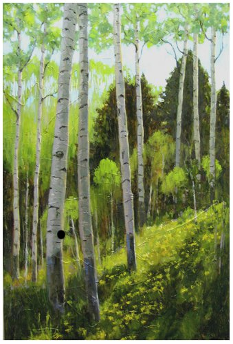 Spring Green by Barbara Churchley