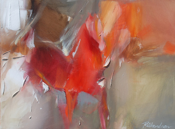 Jean Richardson, Cantalina, acrylic, 18 x 24.