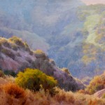 J. Chris Morel | Canyon Shadows, oil, 30 x 40.