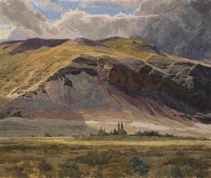Sentinel Bluffs by George Carlson