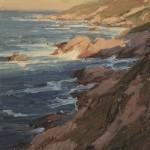 Carmel Study, oil, 10 x 8.