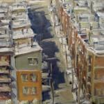 Carol Jenkins, Birds Eye View, oil, 11 x 14.