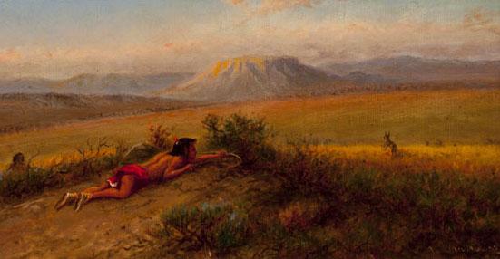 William Cary, title unknown, oil, 15 x 18. Estimate: $20,000-$30,000.