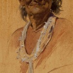 Gerald Cassidy, Indian Portrait, watercolor, 11 x 6. Estimate: $6,000-$10,000.