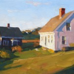 Tim Horn, Chadwick House, oil, 9 x 12.