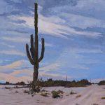 Dane Chinnock, Exiguous, oil, 32 x 18.