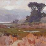 Camille Przewodek, Coastal Fog, oil, 9 x 12.