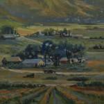 Heather Coen, Sweet Home, oil, 11 x 14.