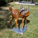 Rebecca Tobey, Concho, bronze, 49 x 38 x 28.