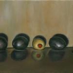 Darcie Copeland, Olive Oil, oil, 14 x 16.