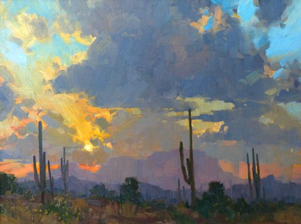 Emerging Artists Bill Cramer Southwest Art Magazine