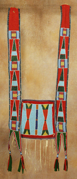 Crow Martingale, circa 1900, 38 x 14. Estimate: $14,000-$18,000.