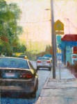 Brenda Boylan, Curbsides, pastel, 12 x 9. (IN SHOW)