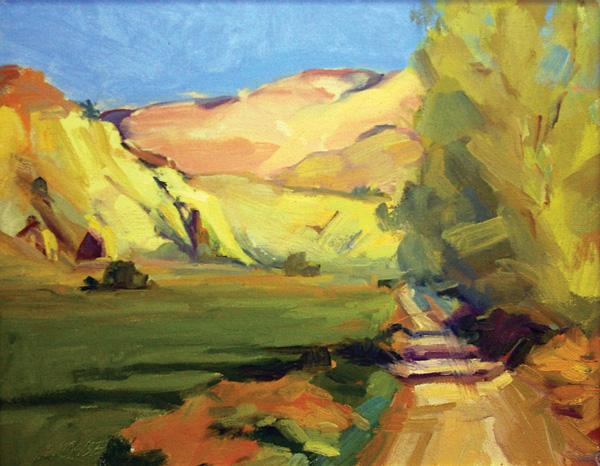 Cynthia Mohseni | landscape painting