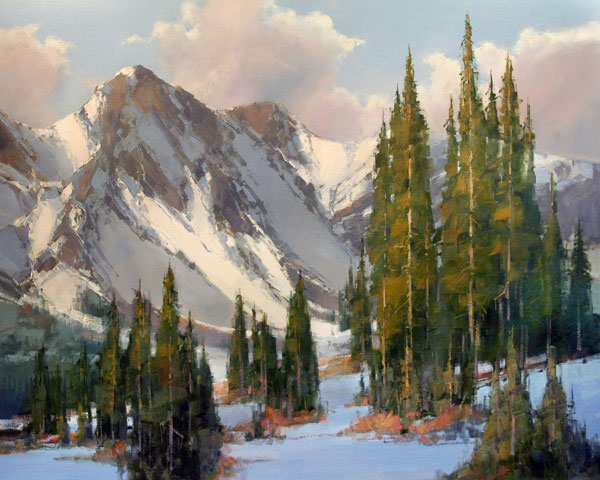David Mayer, Return to the Wild, oil, 30 x 40.