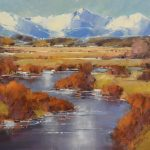 David Mayer, High Country Spring, oil, 16 x 20.