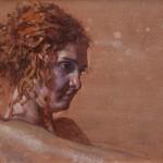 Daniel Bilmes, Maddie, oil, 18 x 14.