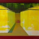 Daniel Granitto, False Doors, False Windows, acrylic, 22 x 30.