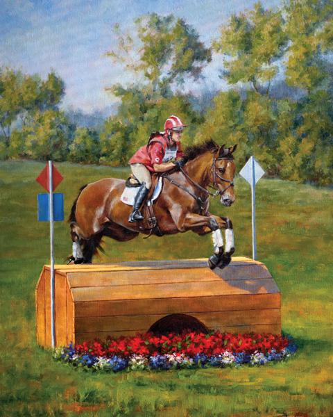 Darianne Whitt, Champions, oil, 18 x 24.