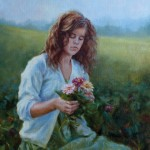 Darianne Whitt, Simple Pleasures, oil, 18 x 24.
