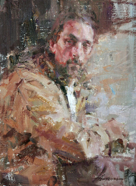 Carolyn Anderson | Dave, oil, 16 x 12.