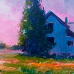 Doug Dawson, Johnson Homestead, oil, 11 x 14.