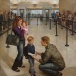 Justin Kunz, Departure, oil, 60 x 48.