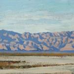 Maynard Dixon, Desert Expanse, oil, 10 x 14.