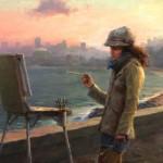 Jacob Dhein, Sasha, oil, 23 x 30.
