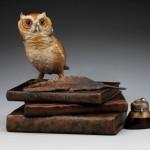 Diane Mason, The Wisdom Keeper, bronze, 10 x 13 x 8.