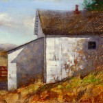 Jerolyn Dirks, Ice House, oil, 11 x 14.