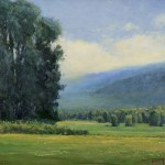 Don Bishop, Distant Glow, oil, 12 x 16.