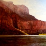 Pem Dunn, Morning in the Canyon, oil, 18 x 24.