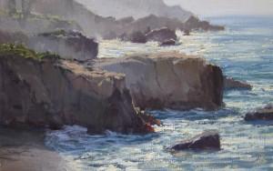 Kathleen Dunphy, Exhilaration, oil, 14 x 20.