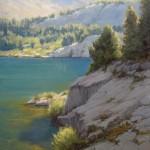 Kathleen Dunphy, Alpine Emerald, oil, 30 x 24.
